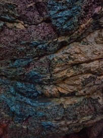 Lava fields colour and shapes Canon